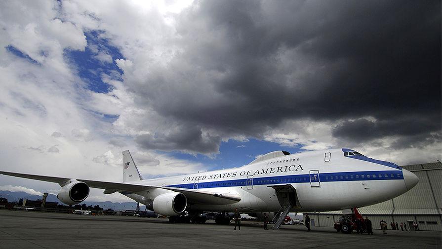 США подняли в воздух самолет «судного дня»