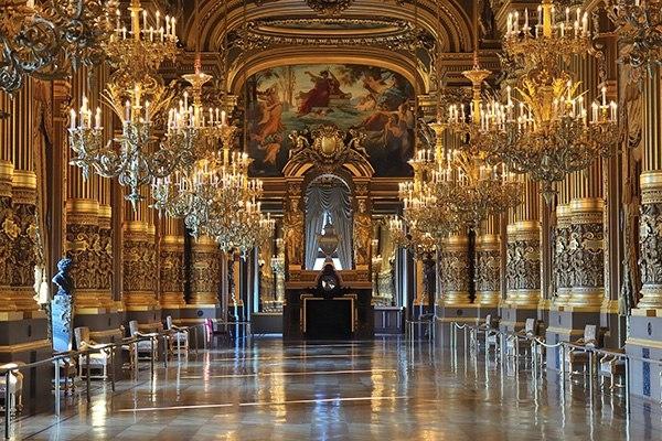 Опера Гарнье, Франция
