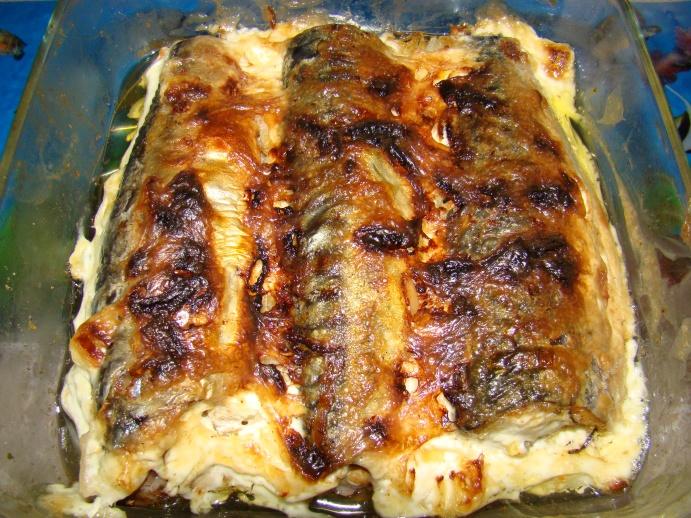 Блюдо из скумбрии рецепты