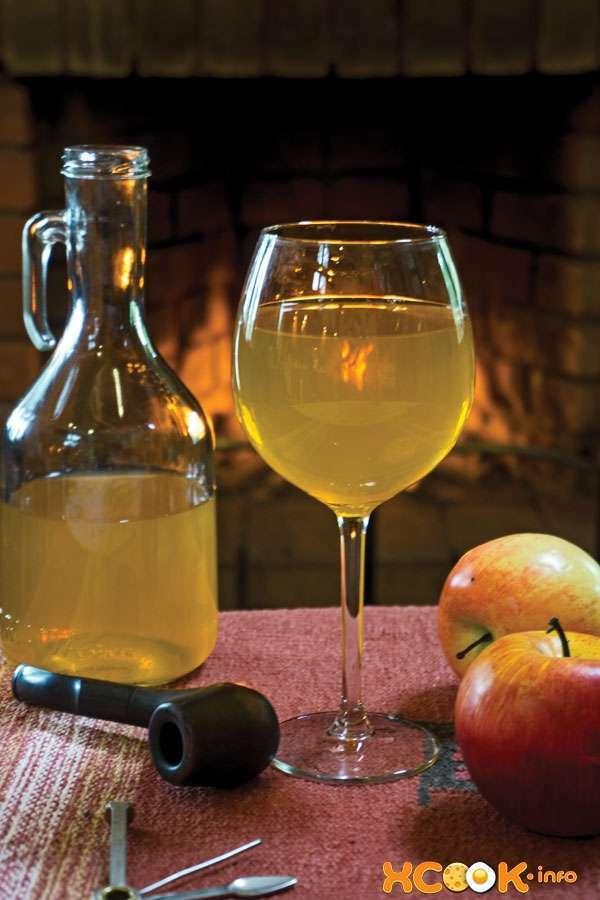 вкусный яблочный сидр