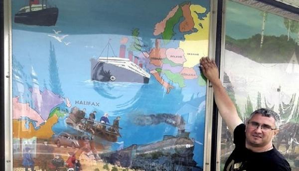 Украинцы порадовались канадской карте, накоторой нет России