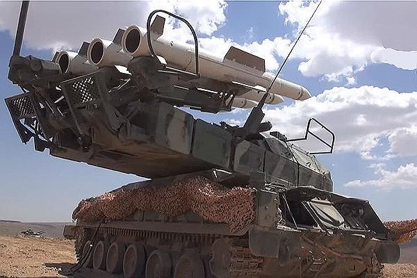 В Сирии впервые «засветили» ракетный «Стрелец»