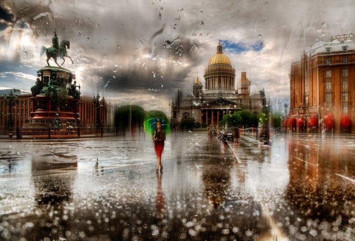 """""""Дождь в городе"""" - великолеп…"""