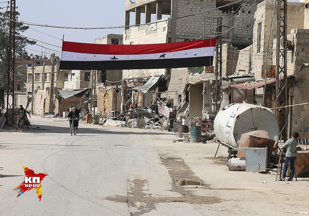За спектакль с химатакой в Сирии детям заплатили финиками