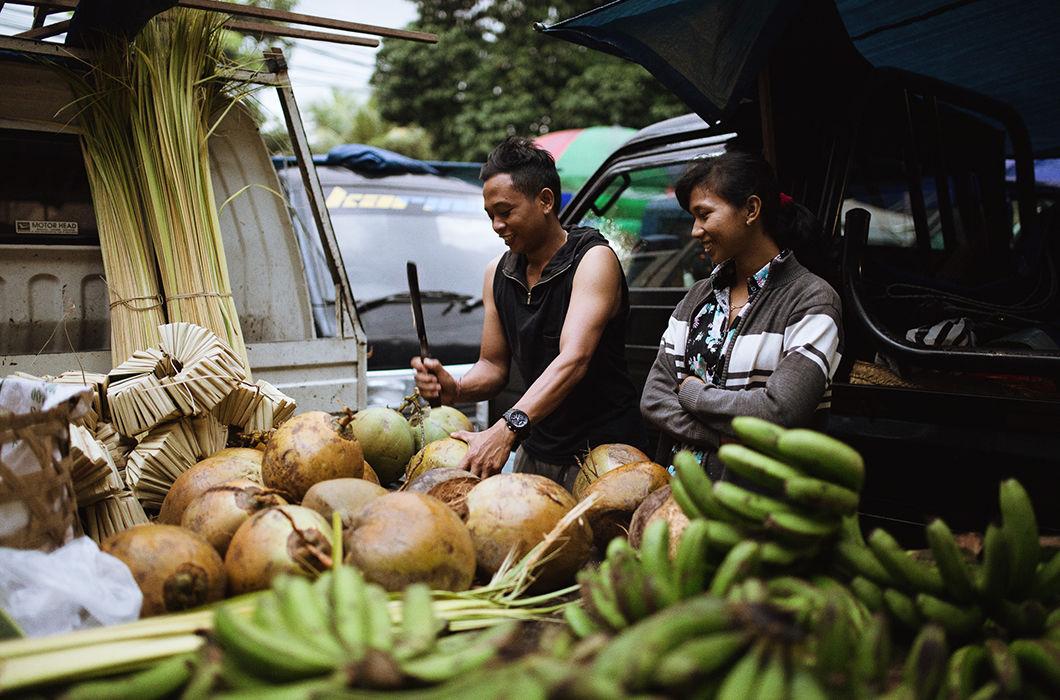 Фотопроект о буднях острова Бали