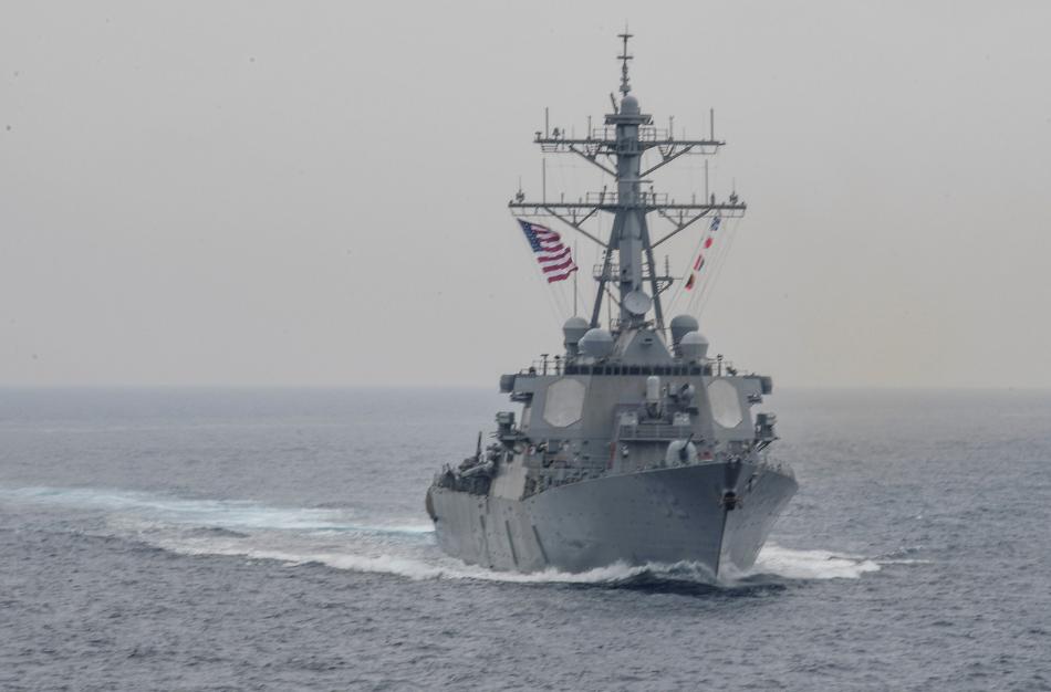 СМИ: США направили к Сирии ракетный эсминец