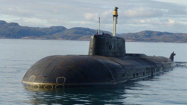 """Подводная лодка проекта 949А """"Антей""""."""