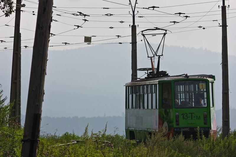 Златоустовский трамвай - самый живописный трамвай России.