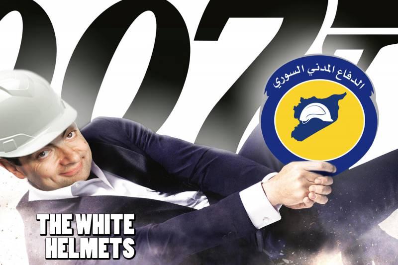 «Белые каски»: чисто английский шпионаж