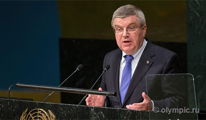 Глава МОК Бах на встрече с российскими спортсменами объяснил причины недопуска россиян на ОИ-2018