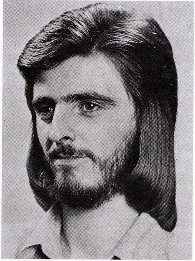 Модные мужские прически 80-х годов