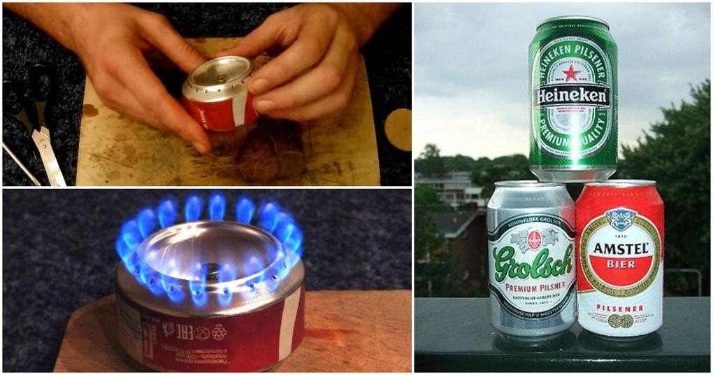 Мобильная спиртовая горелка без затрат: просто заправь и пользуйся