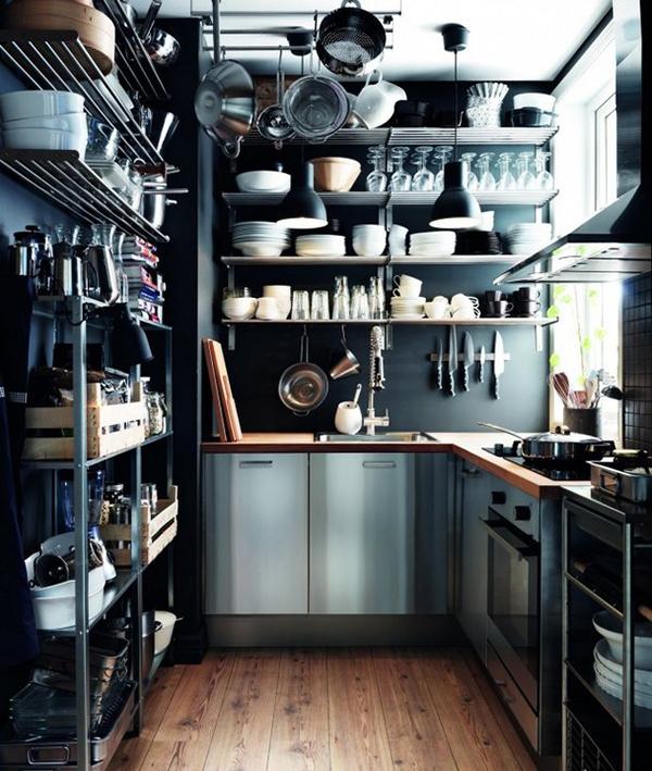 19 потрясающих дизайнерских идей, которые спасут даже самую маленькую кухню.