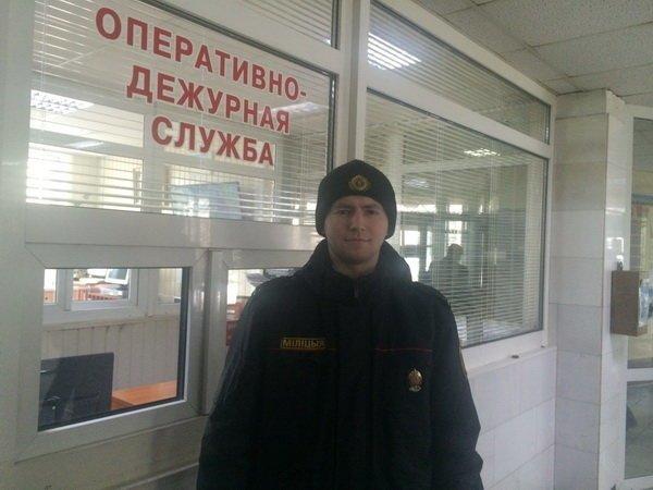 Милиционер придумал необычный способ отучить пить алкоголика беларусы, милиция, минск, участковый