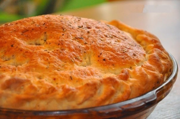 Картофельный пирог с сыром