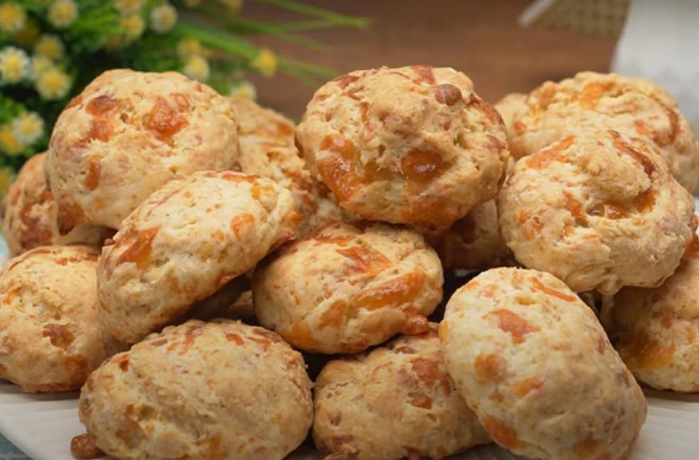 Объедение за считанные минуты: закусочное печенье с сыром