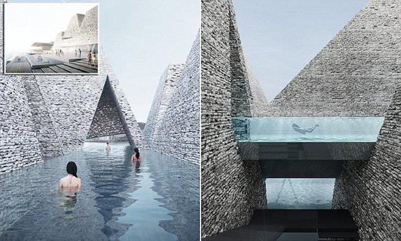 Новый фантастический бассейн…