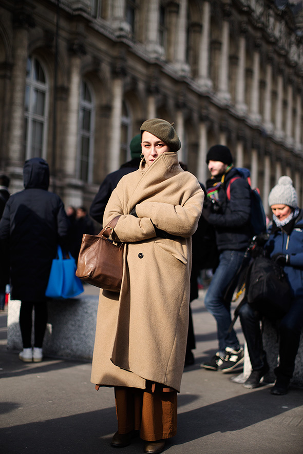 On the Street…All Bundled Up, Paris