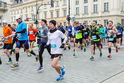 Умер участник варшавского марафона