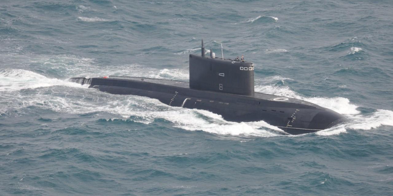 """Американская пресса рассказала об """"устрашающей"""" подлодке ВМФ России"""