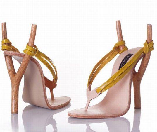 Туфли-рогатки