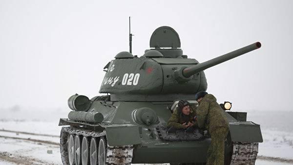 В Россию из Лаоса вернулись 30 танков Т-34