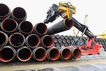 Германия начала строить «Северный поток-2»