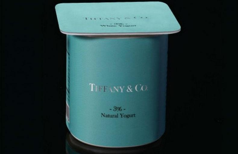 Завтрак у Tiffany: как выглядели бы продукты, возьмись за их производство известные бренды