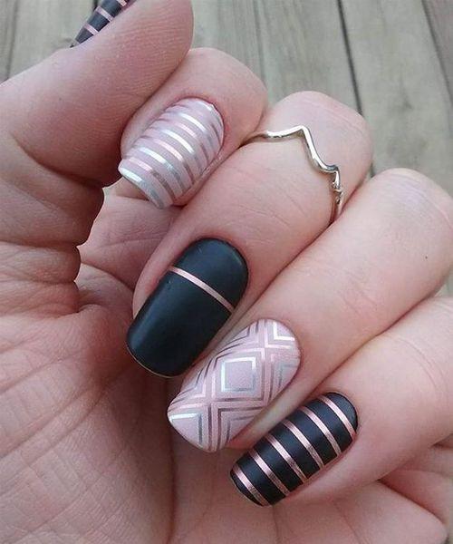 эффектный дизайн ногтей