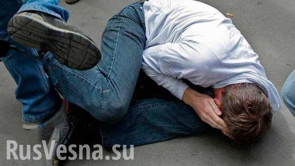 Эстонец избил украинцы из-за спора о России