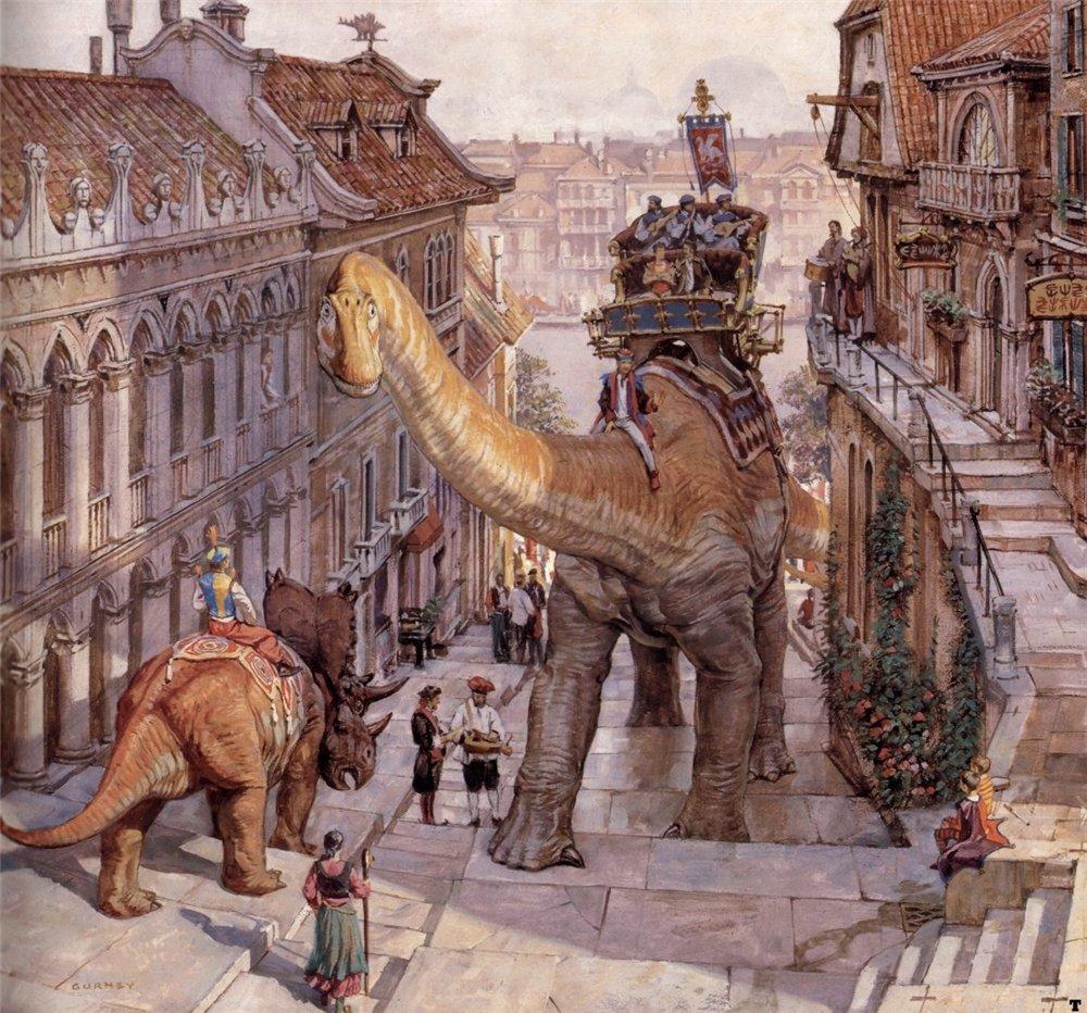 Dinotopia искусство наука и воображение