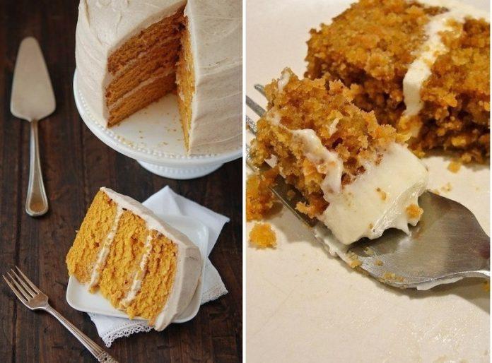 Нежный морковный торт с грецкими орехами и корицей — десерт, полюбившийся миллионам