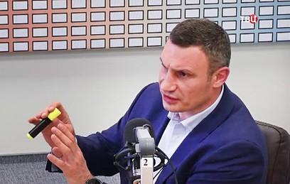 В Киеве начали сбор подписей за отставку мэра Кличко