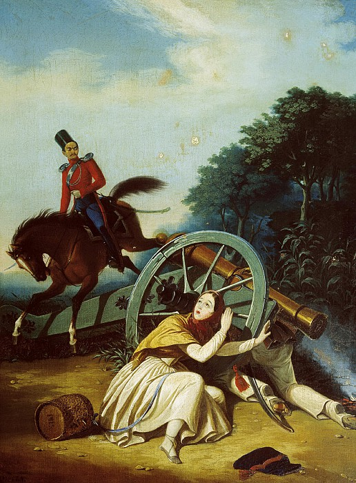 К. Гампельн. Сцена из Отечественной войны 1812 года