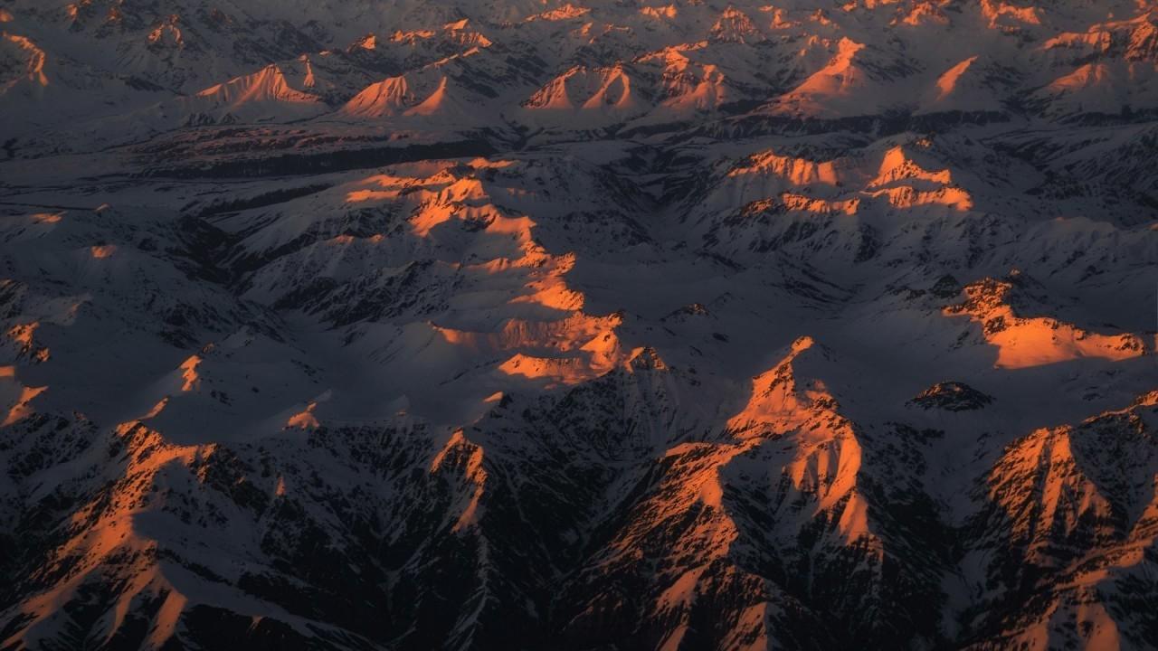 Закат над Монголией аэросъемка, кабина пилота, кабина самолета, красивые фотографии, пилот, с высоты, с высоты птичьего полета, фотограф