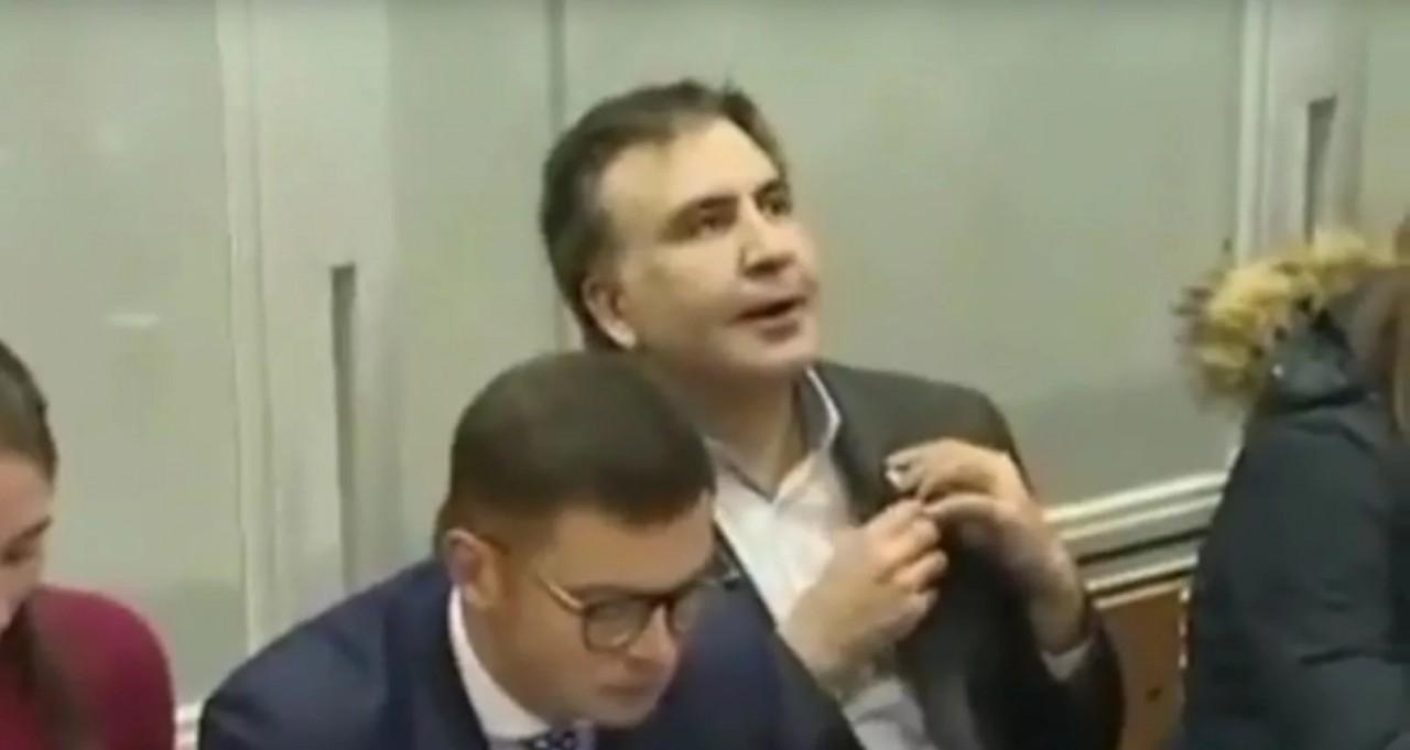 Саакашвили заподозрили в употреблении наркотиков
