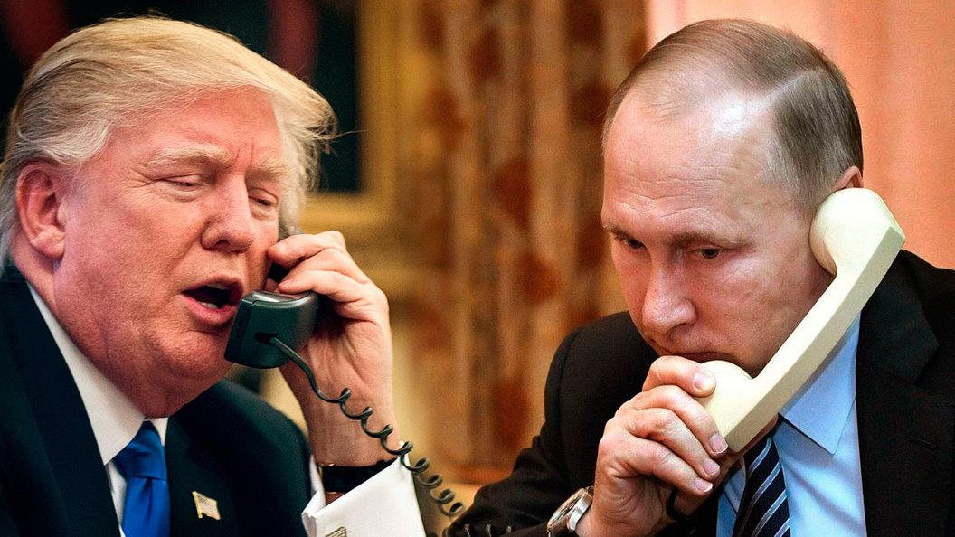 Трамп позвонил Путину после …