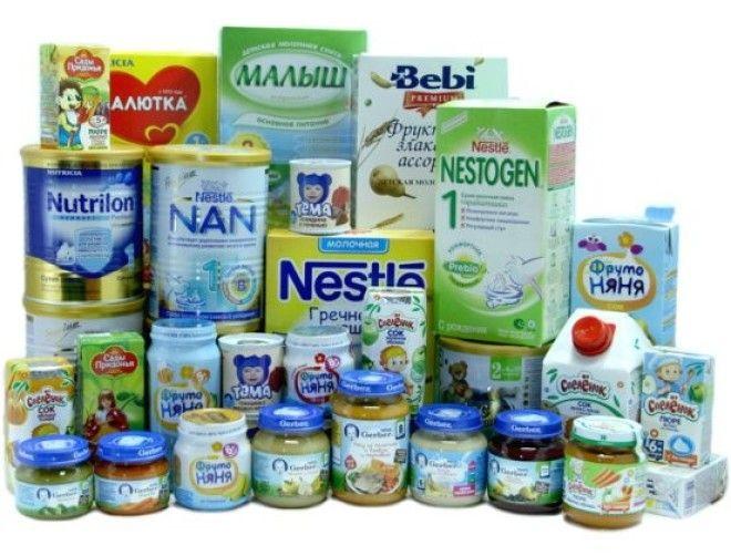 13 Детское питание выживание еда запас полезная еда продовольствие продукты советы