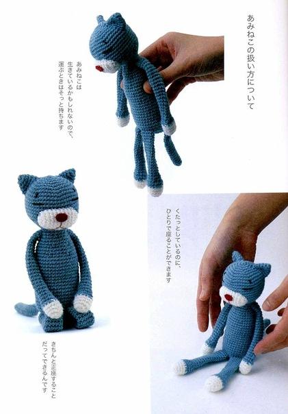 Вязание игрушек для котиков 86