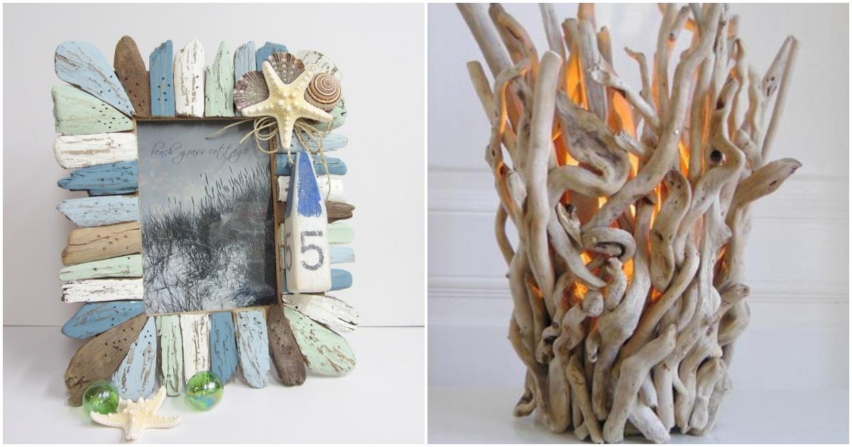 Поделки из бросовых деревяшек: интересные интерьерные решения