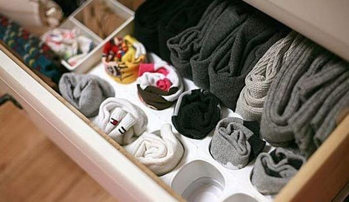 Хранение носков своими руками