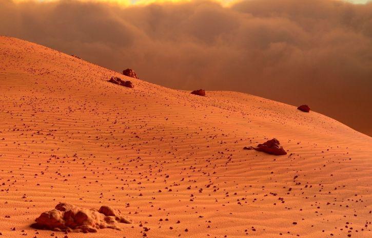 Уфолог обнаружил на Марсе загадочные древние структуры
