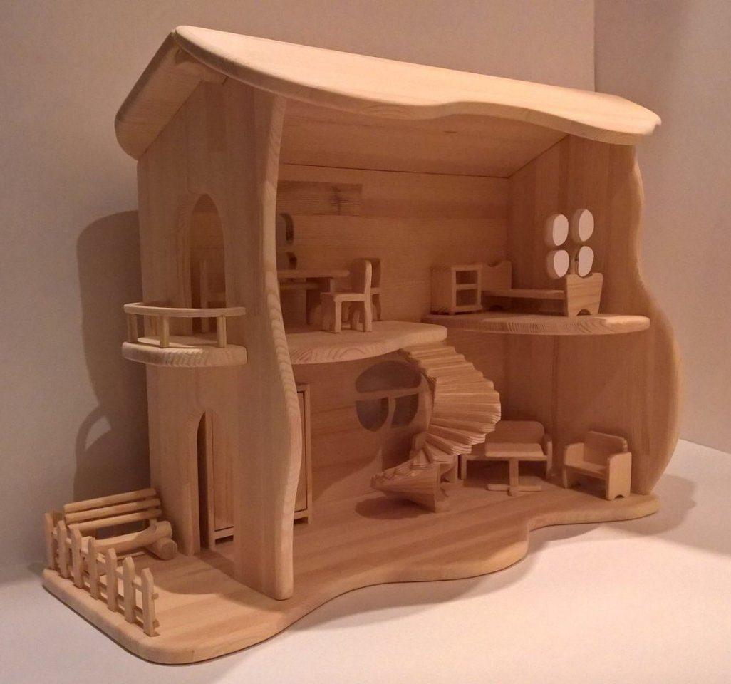 Кукольный домик, сделанный своими руками 😇