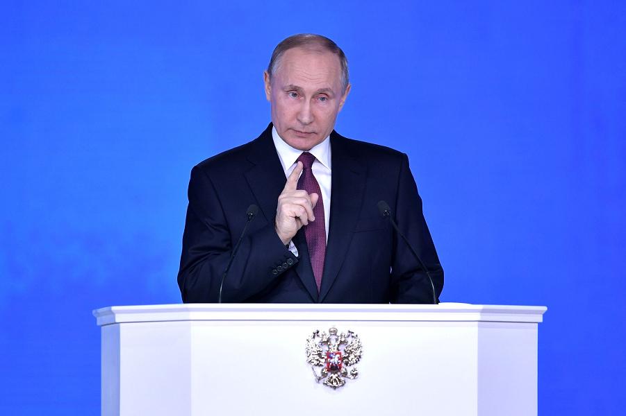 Путин начал новый срок с конкуренции. И как-то удивил!
