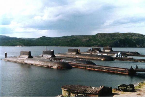 """Куда пропали 5 из 6 советских подводных монстров проекта """"Акула""""?"""