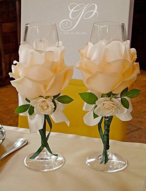 Свадебные бокалы. Красивые и…