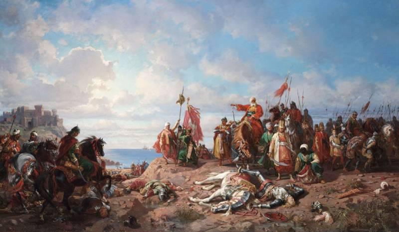 Лебединая песня крестоносцев