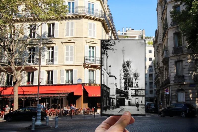 100-летние изменения Парижа …