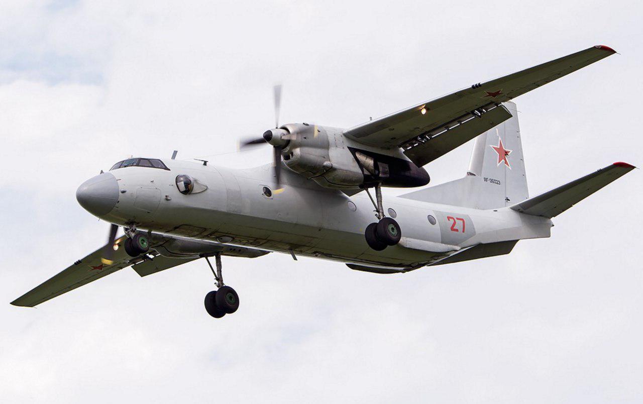 Российский самолет Ан-26 разбился в Сирии, 32 человека погибли