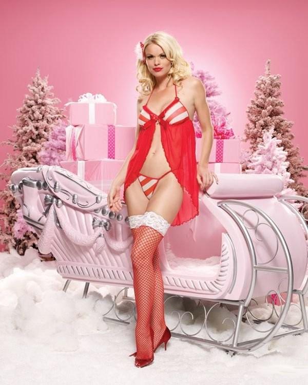 Эротичные и очаровательные снегурочки